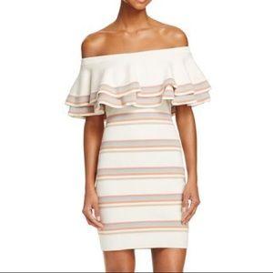Endless rose off the shoulder knit dress